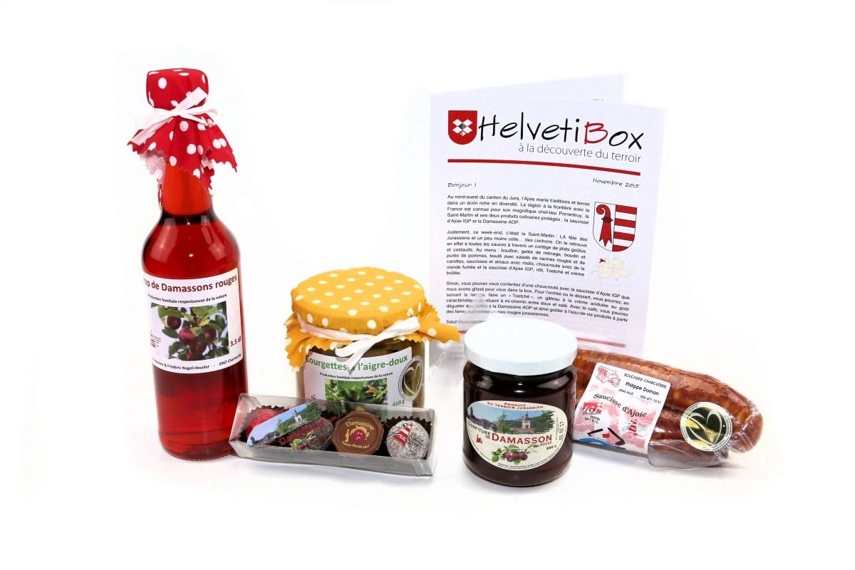 HelvetiBox n°15 – Produits du terroir jurassien