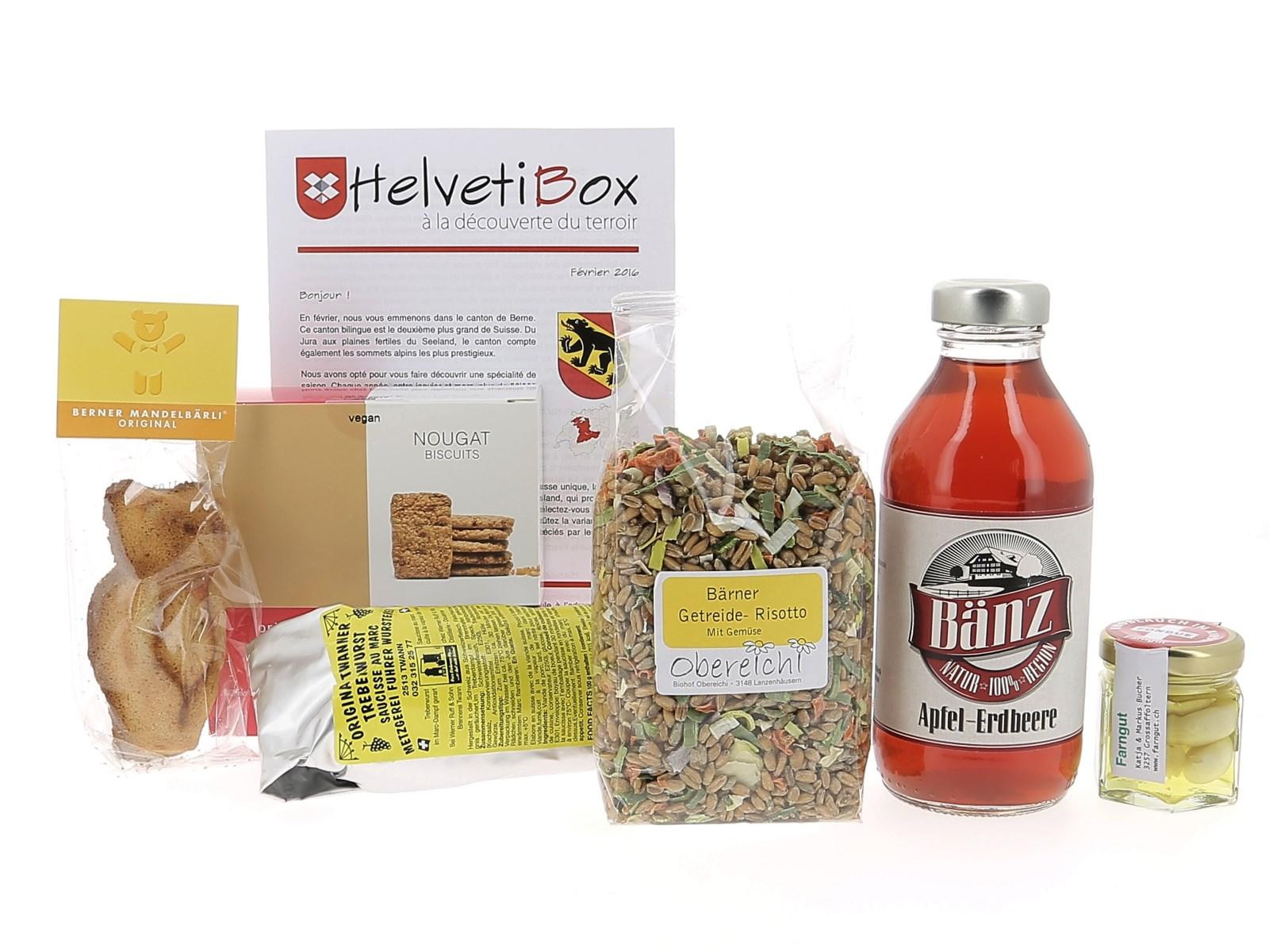 HelvetiBox n°18 – Produits du terroir bernois