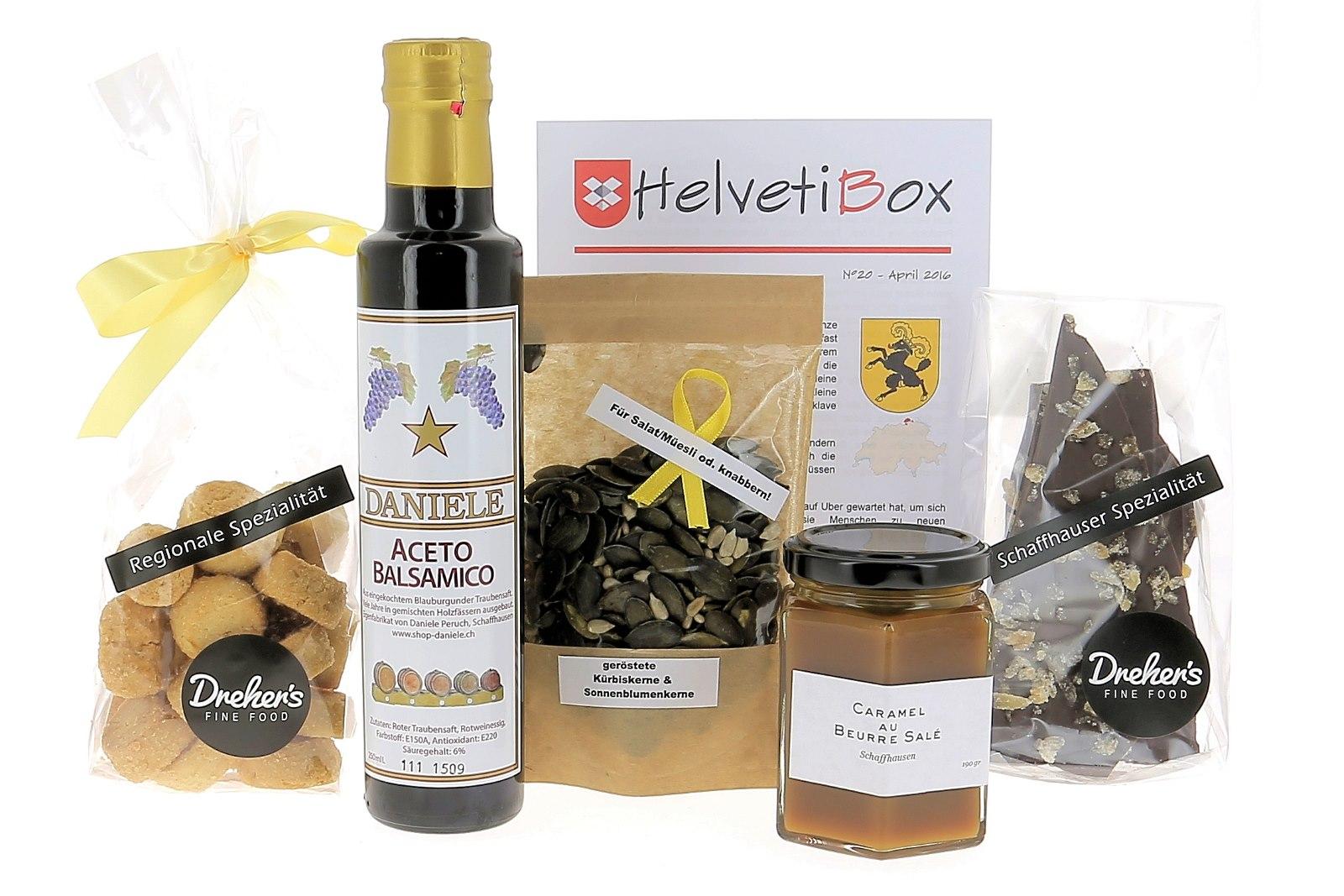 HelvetiBox n°20 – Produits du terroir schaffhousois