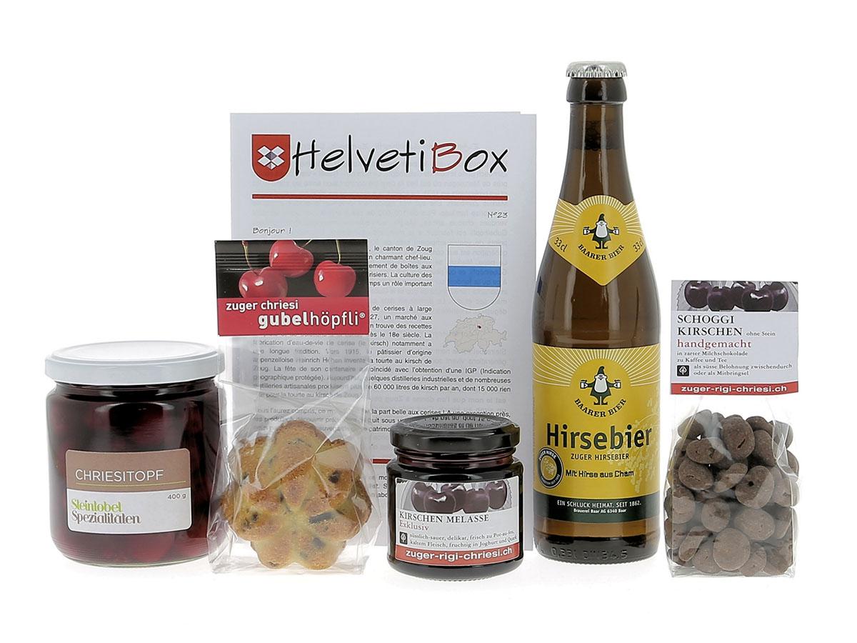HelvetiBox n°23 – Produits du terroir zougois
