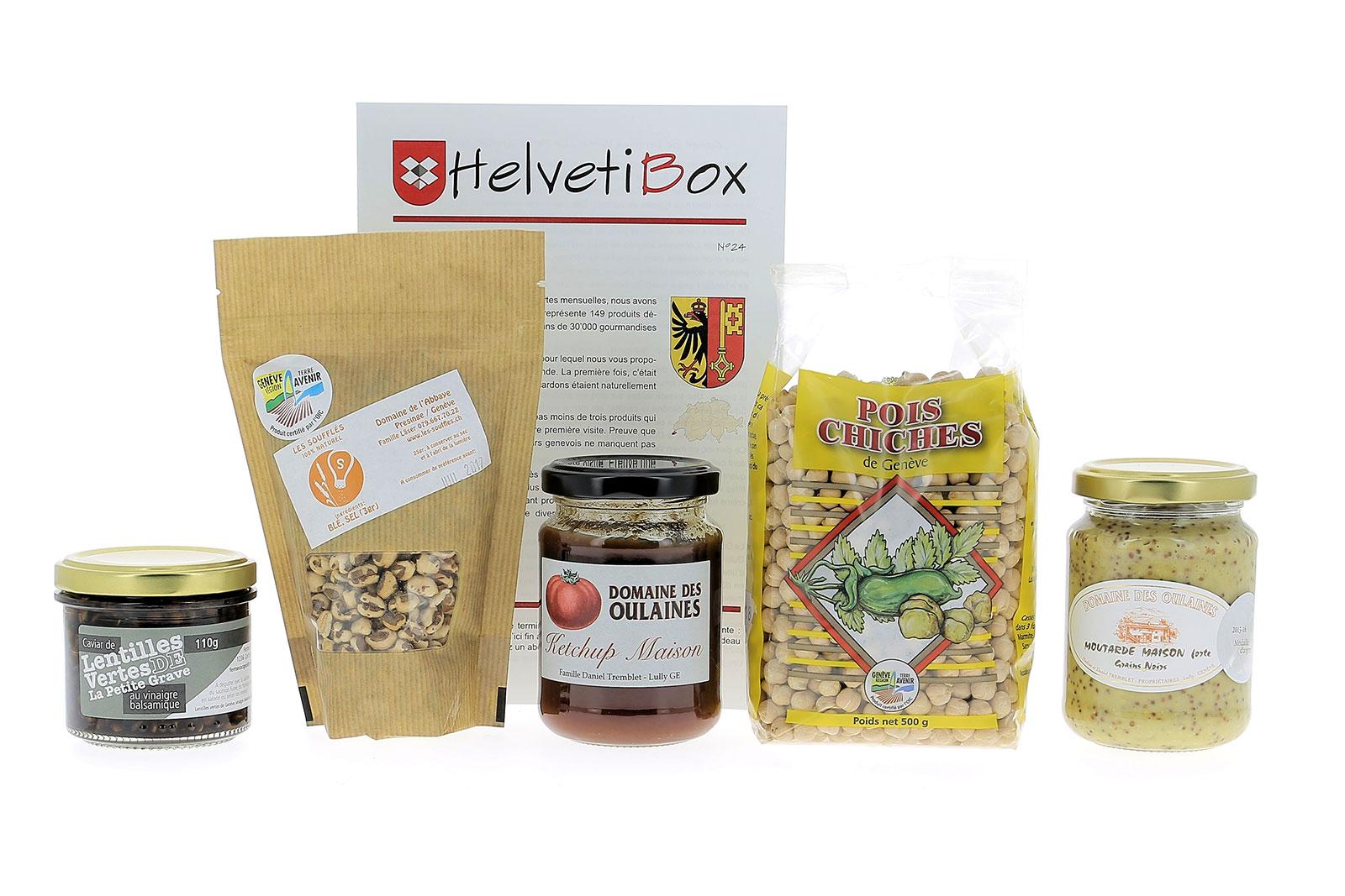 HelvetiBox n°24 – Produits du terroir genevois
