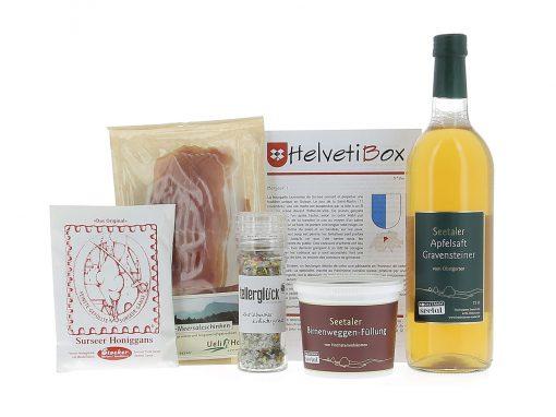 HelvetiBox n°26 – Produits du terroir lucernois