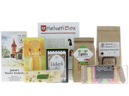 HelvetiBox N°28 – Regionale Produkte aus Basel-Landschaft und Basel-Stadt
