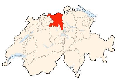 Carte de la Suisse (Unterwald)