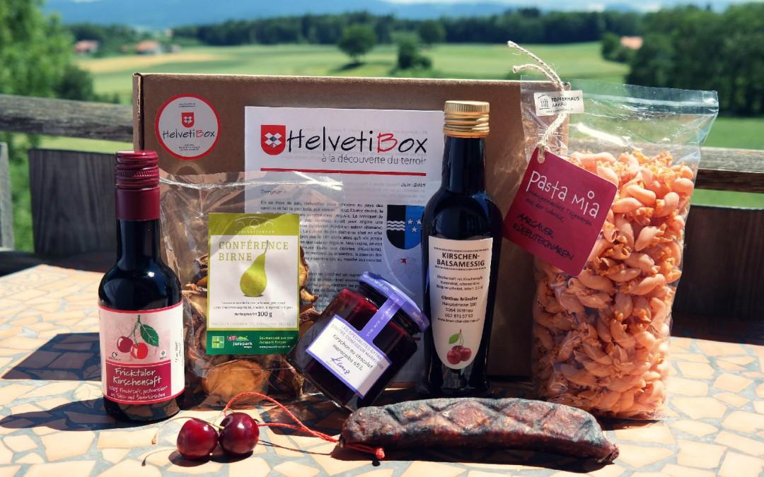 HelvetiBox n°10 – Regionale Produkte aus Aargau