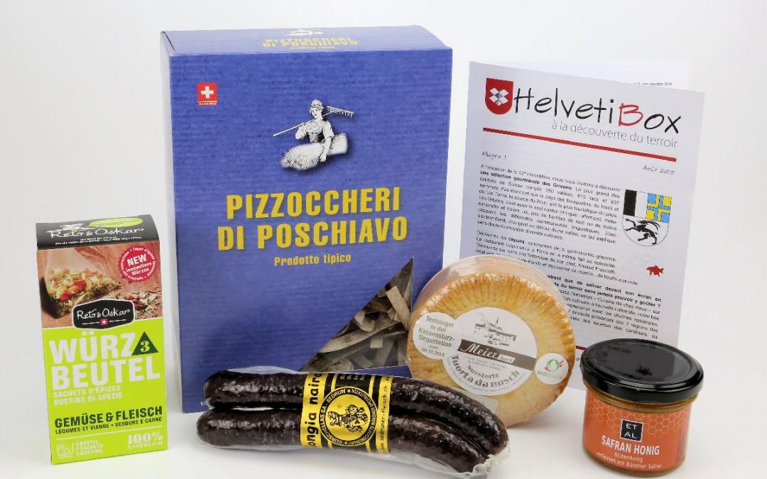 HelvetiBox n°12 – Produits du terroir grison