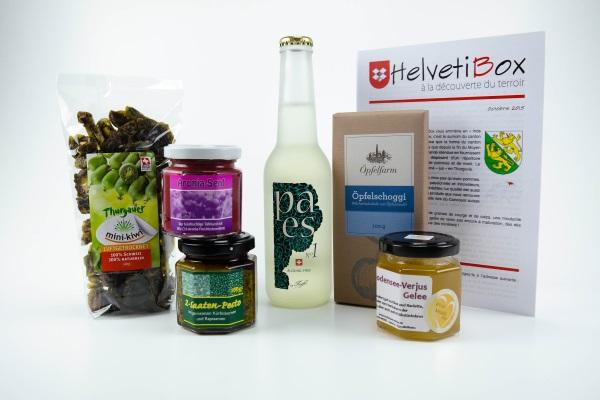 HelvetiBox n°14 – Produits du terroir thurgovien