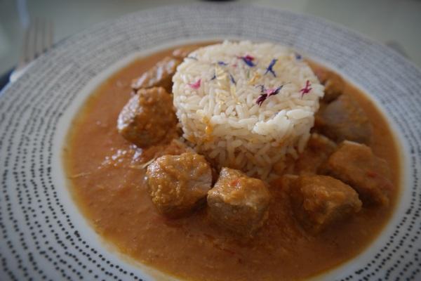 """Recette Curry """"Inde du moût"""""""