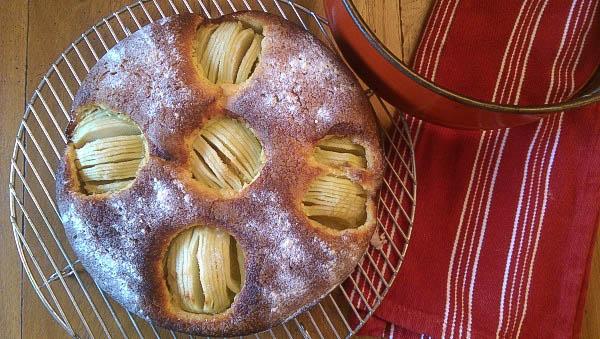 Recette Gâteau aux pommes à la thurgovienne