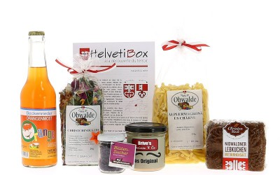 HelvetiBox n°16 – Produits du terroir de Nidwald & Obwald