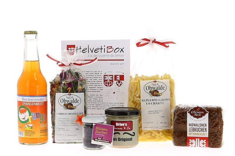 HelvetiBox n°16 – Regionale Produkte aus Unterwalden