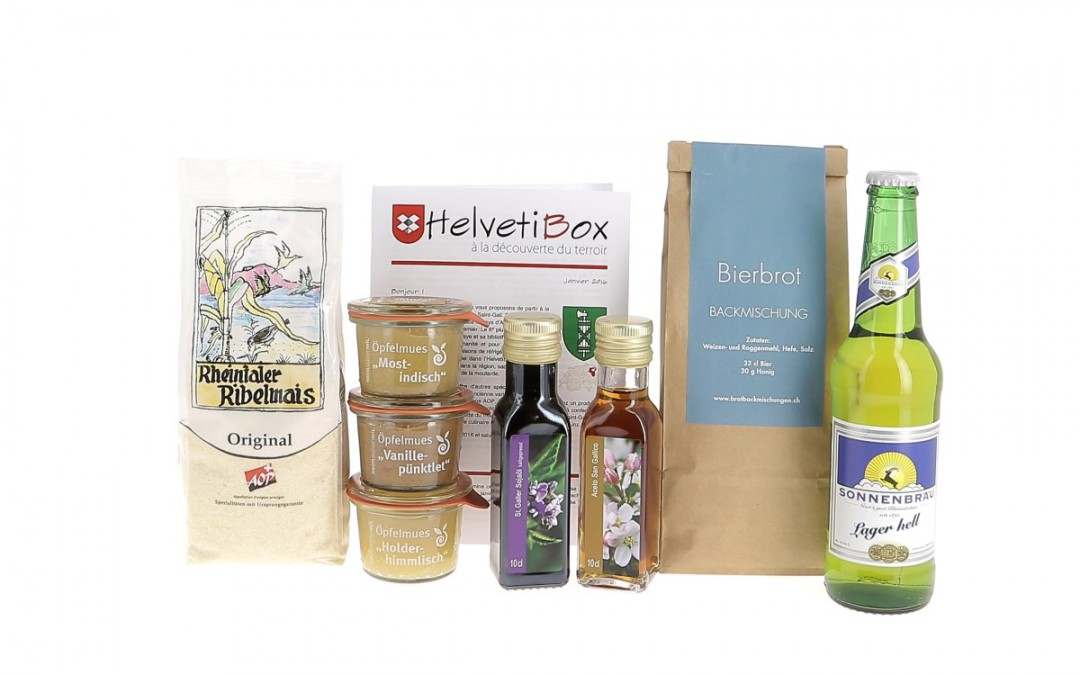 HelvetiBox n°17 – Regionale Produkte aus St. Gallen