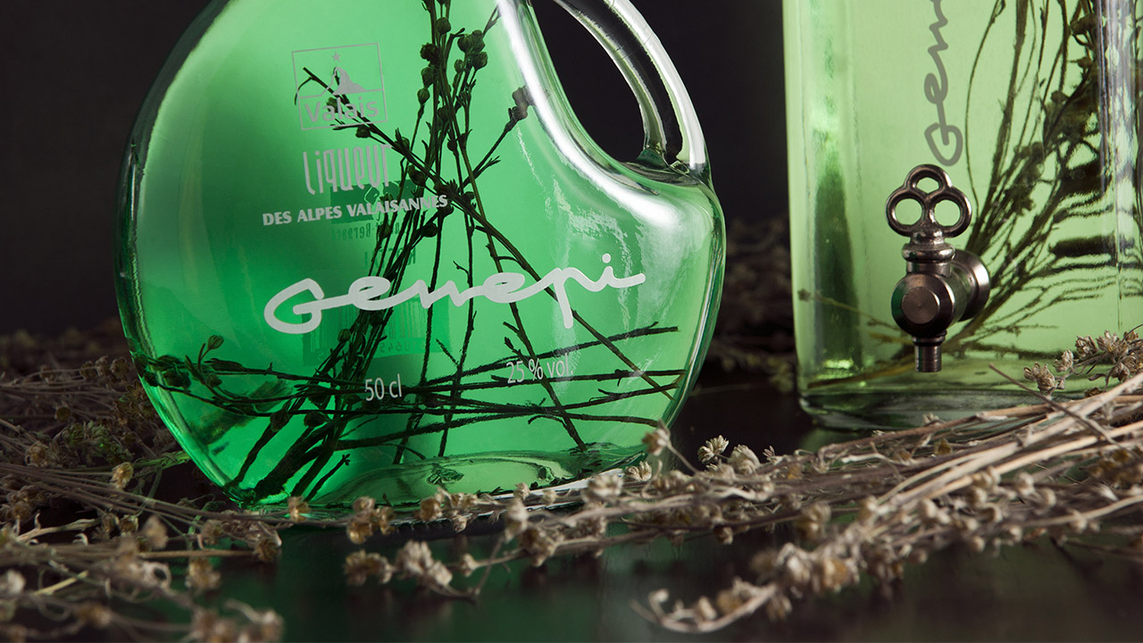 Génépi de la marque Valais