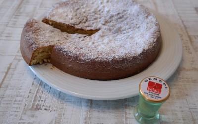 Recette Gâteau moelleux au génépi
