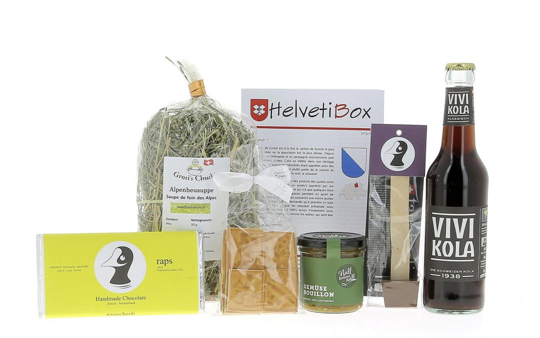 HelvetiBox N°27 – Regionale Produkte aus Zürich