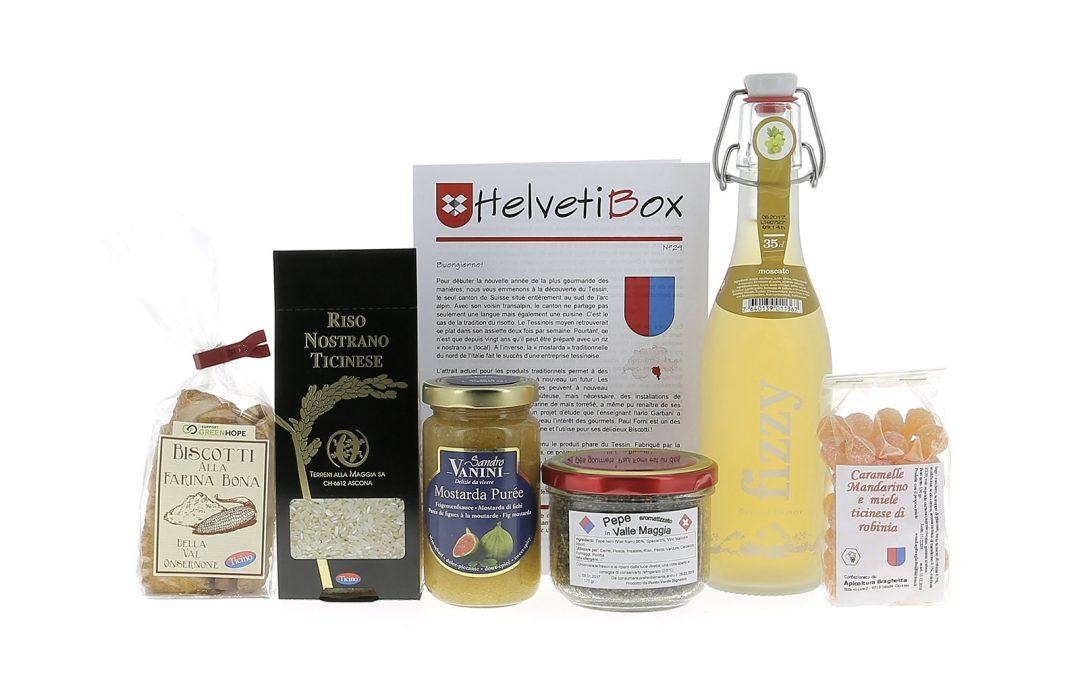 HelvetiBox n°29 – Produits du terroir du Tessin