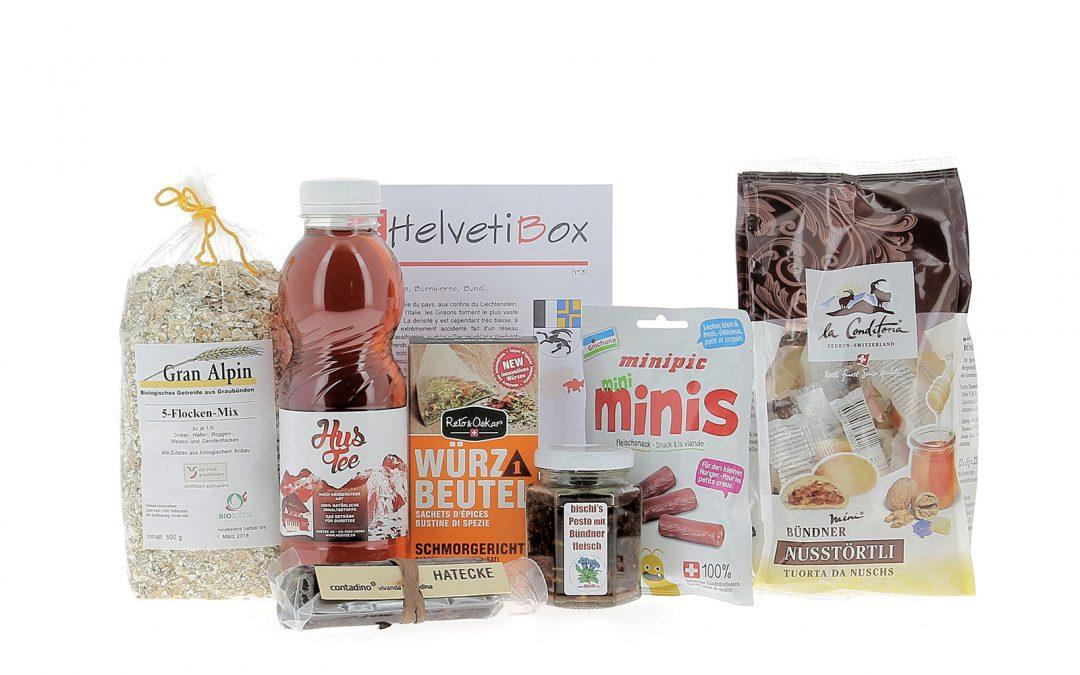 HelvetiBox N°31 – Regionale Produkte aus Graubünden