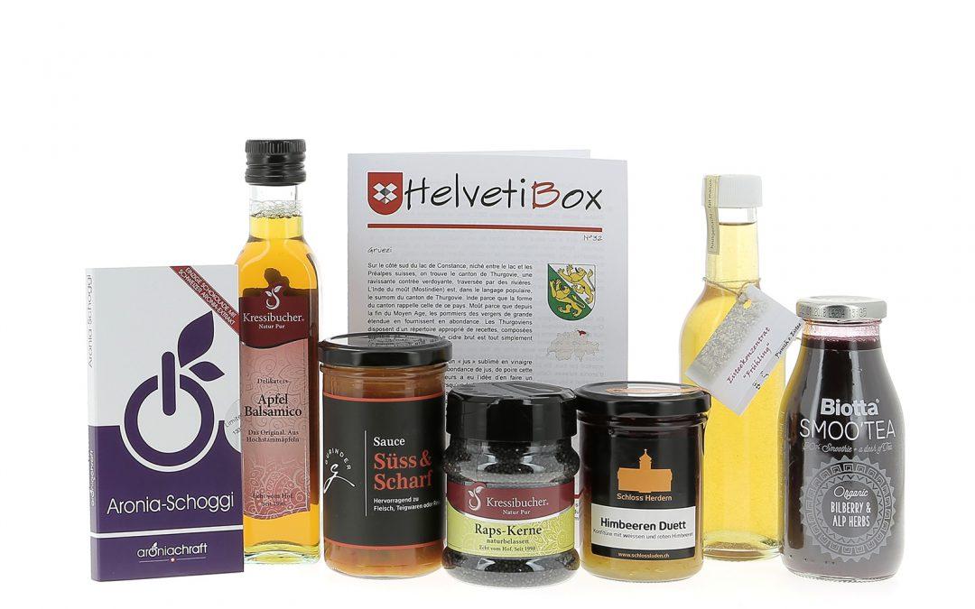 HelvetiBox n°32 – Produits du terroir thurgovien