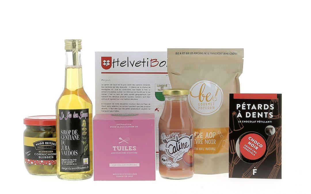 HelvetiBox n°33 – Produits du terroir vaudois