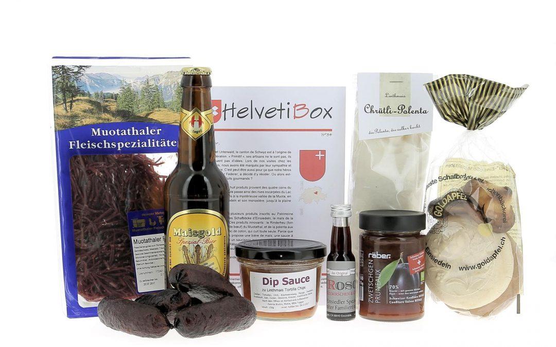 HelvetiBox N°34 – Regionale Produkte aus Schwyz