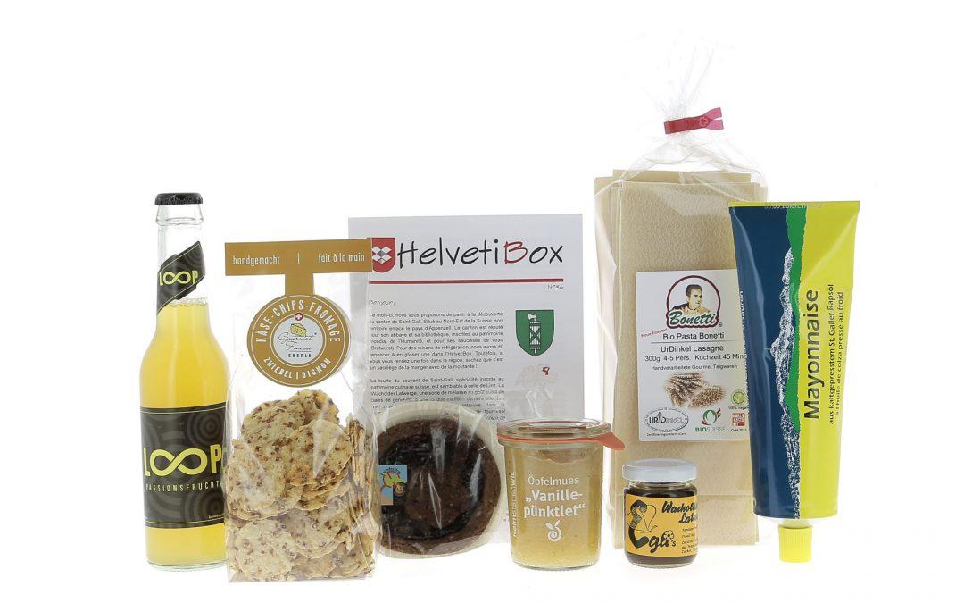 HelvetiBox n°36 – Produits du terroir de Saint-Gall