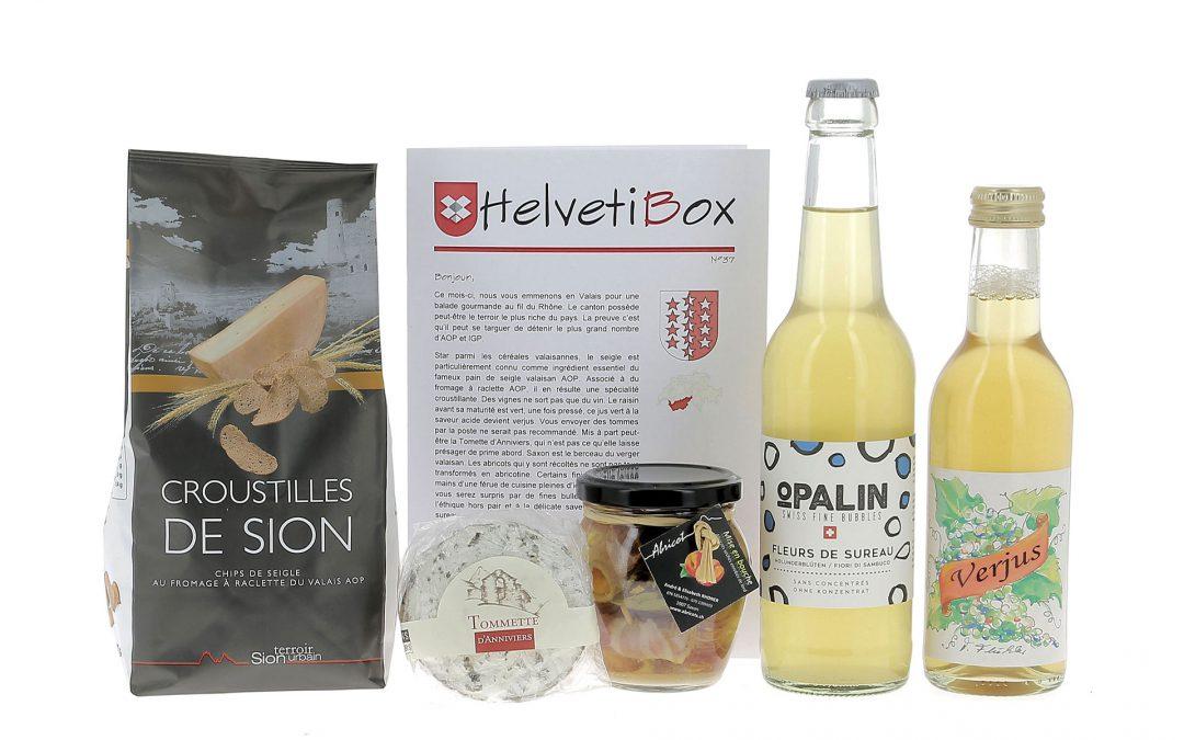 HelvetiBox n°38 – Regionale Produkte aus dem Wallis