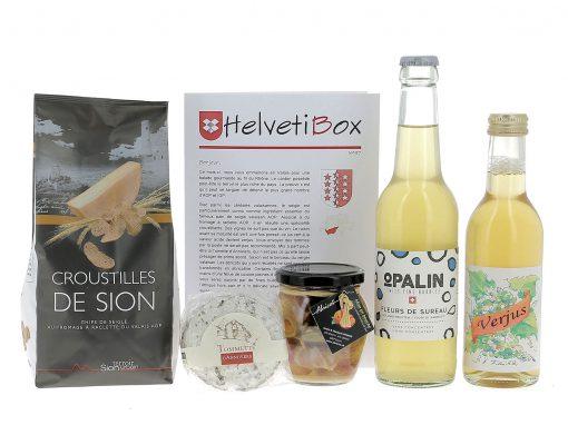 HelvetiBox n°38 – Produits du terroir valaisans