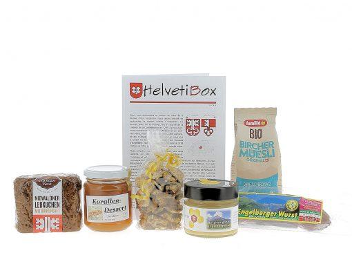 HelvetiBox n°39 – Produits du terroir de Obwald & Nidwald