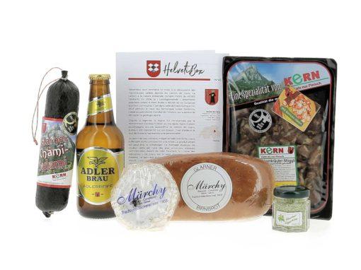 HelvetiBox N°45 – Regionale Produkte aus Glarus