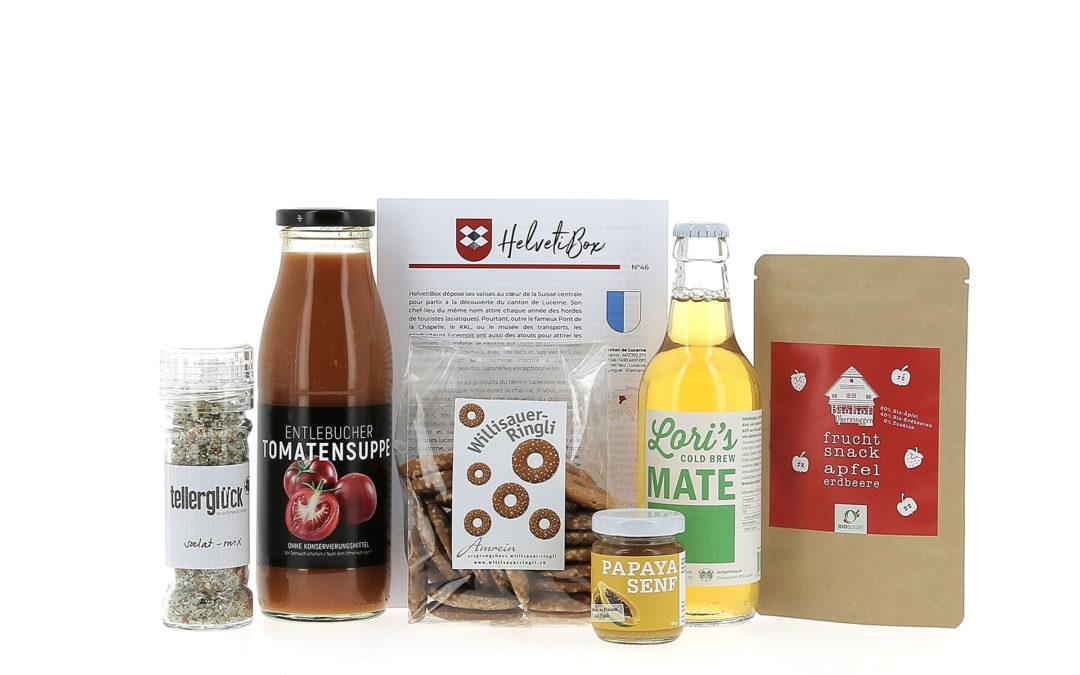 HelvetiBox N°46 – Regionale Produkte aus Luzern