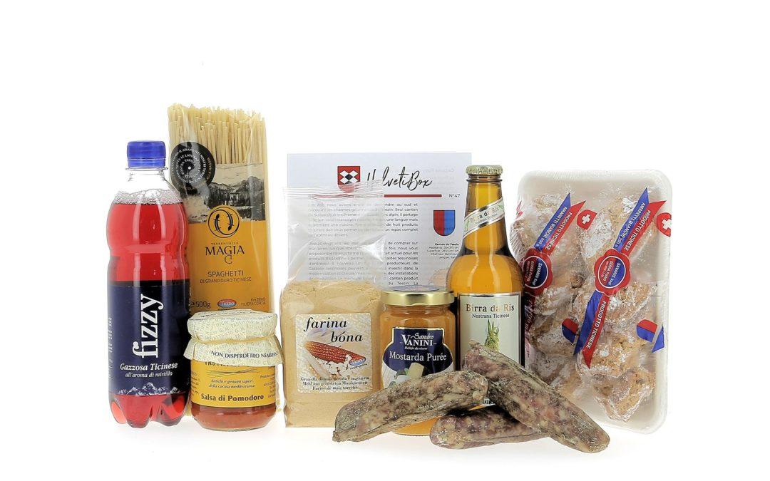 HelvetiBox n°47 – Produits du terroir tessinois