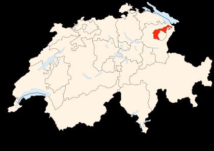 Carte de la Suisse (AR) (image Wikimedia Commons Poulpy)