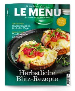 LE MENU Magazin