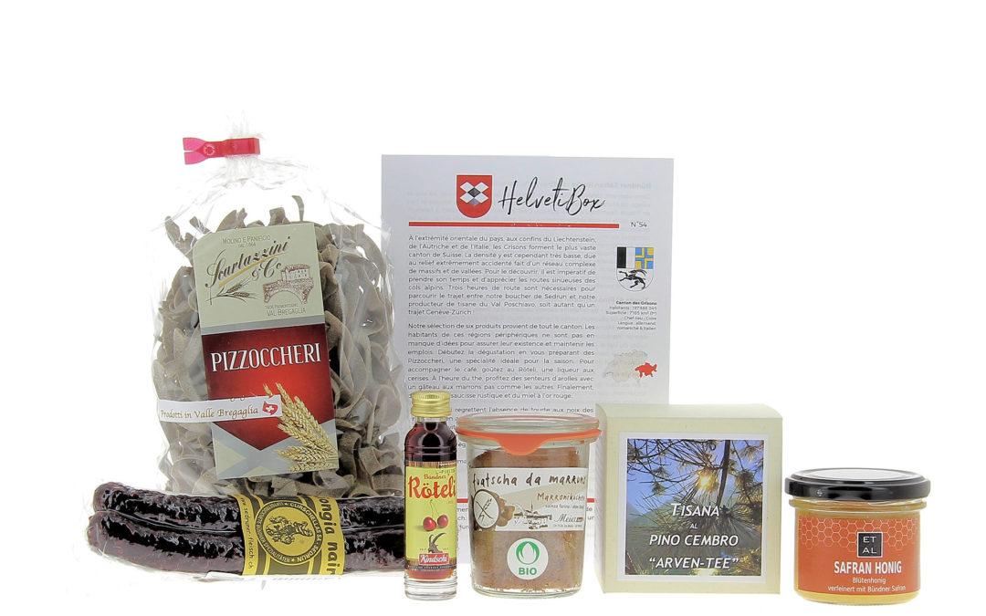 HelvetiBox N°54 – Regionale Produkte aus Graubünden