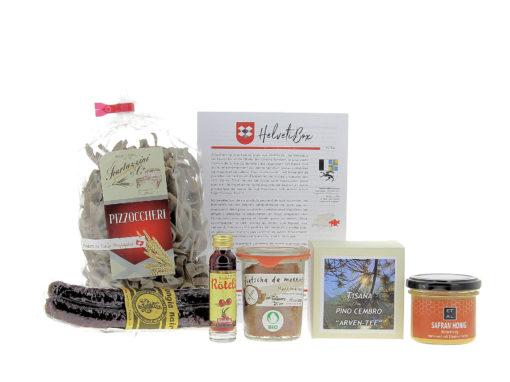 HelvetiBox n°54 – Produits du terroir grison
