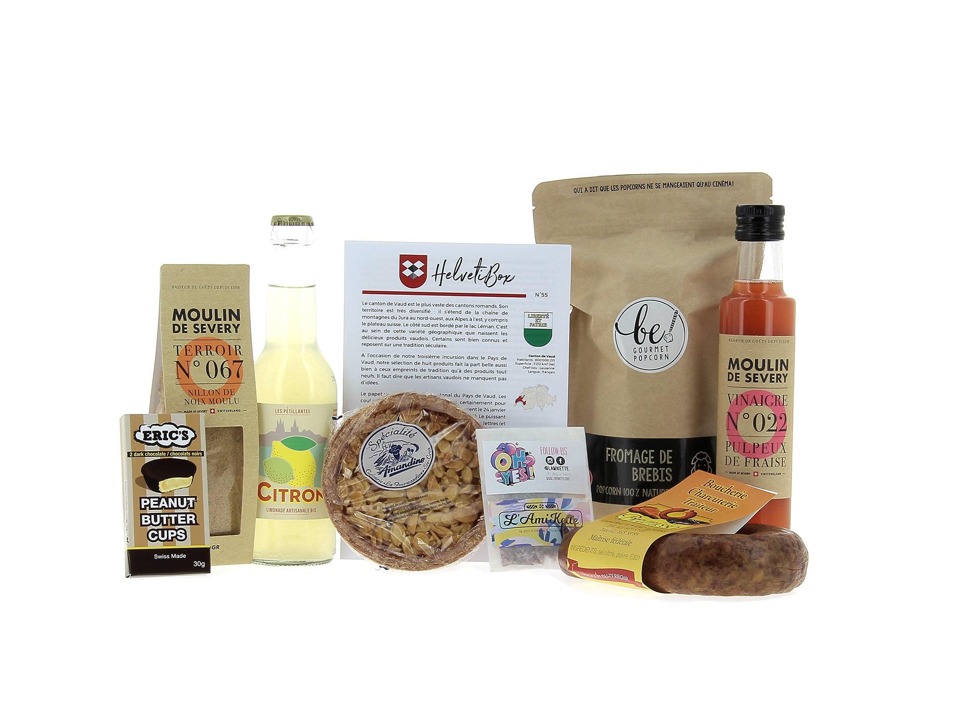 HelvetiBox N°55 produits du terroir vaudois