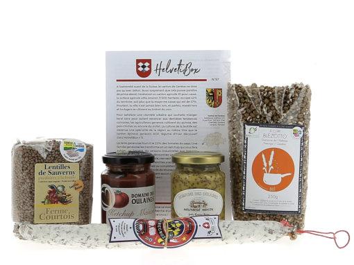 HelvetiBox n°57 – Produits du terroir genevois