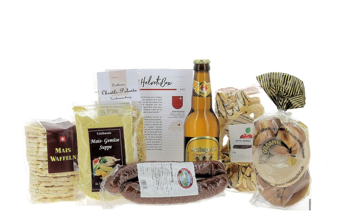 HelvetiBox N°62 – Regionale Produkte aus Schwyz