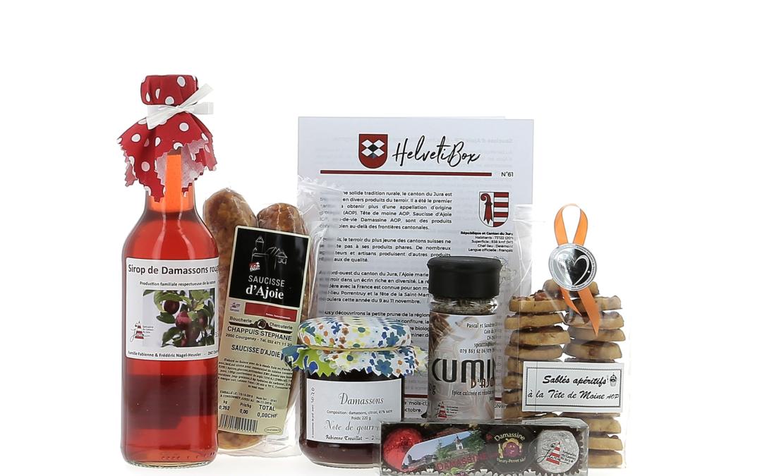 HelvetiBox N°61 – Regionale Produkte aus dem Jura