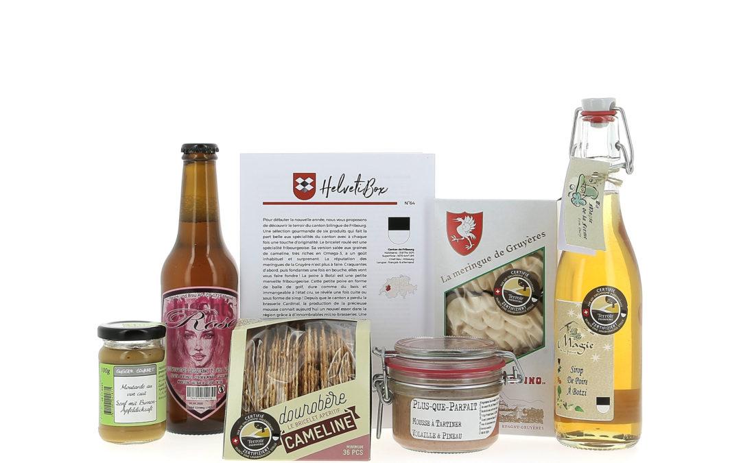 HelvetiBox n°64 – Regionale Produkte aus Freiburg