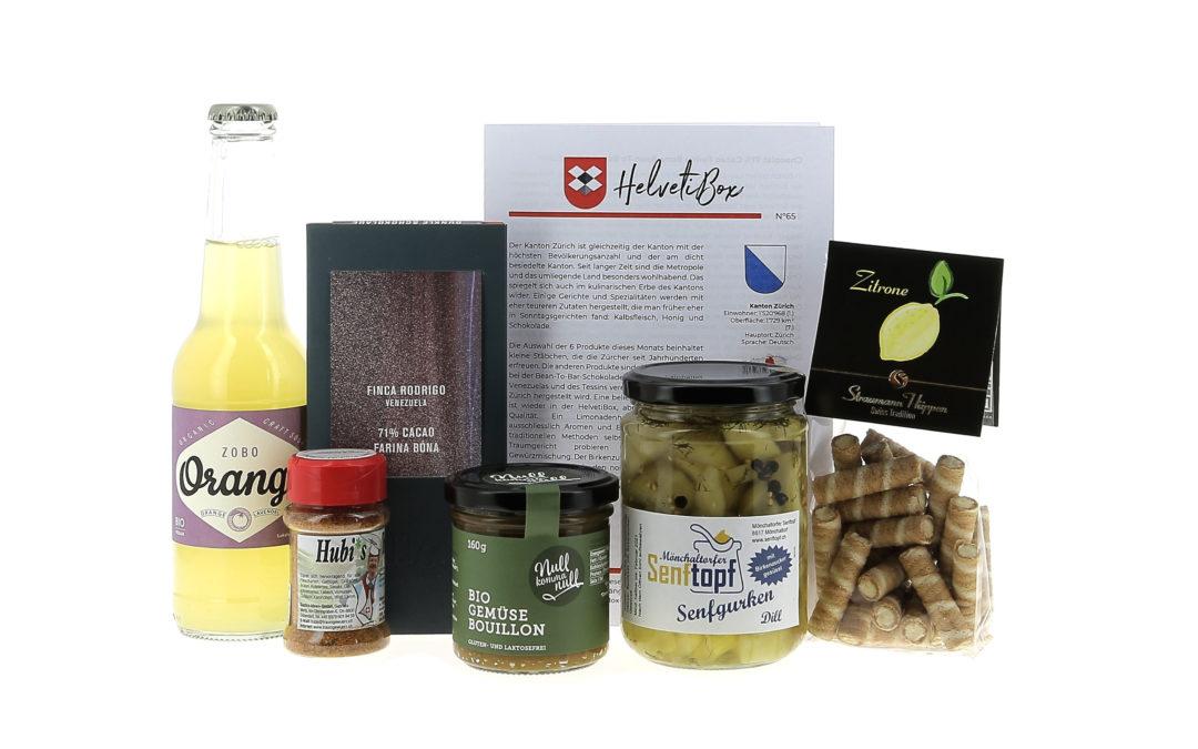 HelvetiBox N°65 – Regionale Produkte aus Zürich